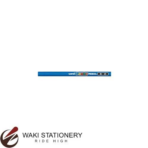 三菱鉛筆 色鉛筆 ポンキー 単色 アオ / 6セット