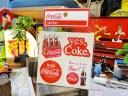 コカ・コーラブランド ロゴステッカー(BA18) ■ コカコ
