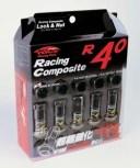 【レーシングコンポジットR40】20個入り■ストリーム/ホンダ■M12×P1.5■Kics Racing CompositeR40 ロック&ナットセットクラシカル【RC11K】