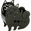 柴犬君 ステンレス蚊遣り【スタンド式】