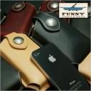 【iPhone SE 5 5s 対応】FUNNY ファニー モバイルケース ≪プレーン≫/ スマートフォン/ハンディホンケース/携帯ケース/携帯電話ケース/..