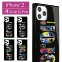 ジョジョの奇妙な冒険 iPhone 12 iPhone12 Pro ガラスケース スクエア 四角 キャラクター iPho……