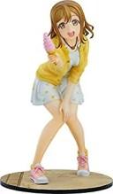 【中古】With Fans! ラブライブ! サンシャイン!! 国木田花丸 Blu-rayジャケットVer. 1/7スケール ABS&PVC製 塗装済み完成品フィギュア