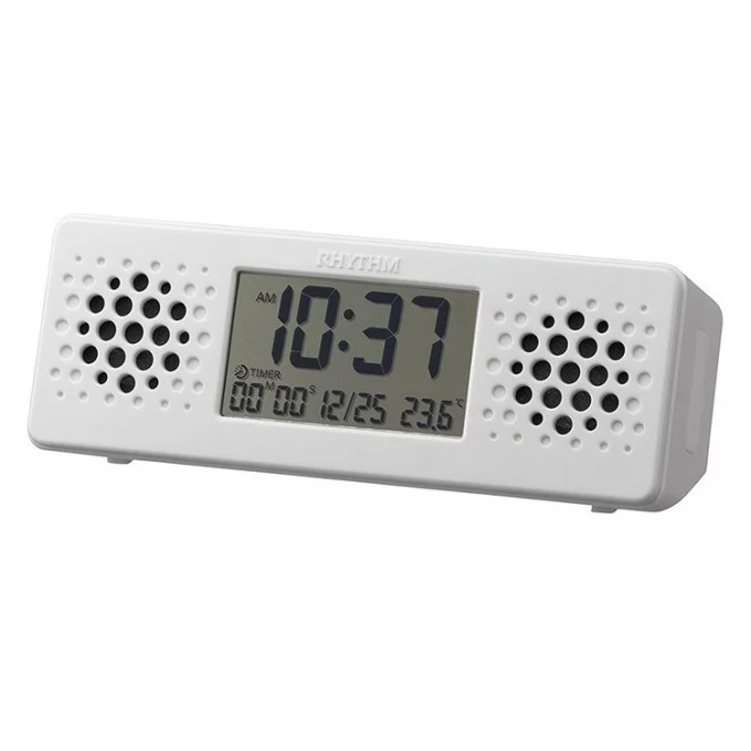 8RDA73RH03 置き時計 リズム時計 アクアプルーフ