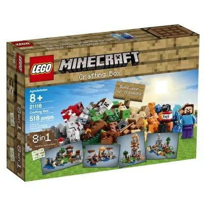 【最大1,200円オフクーポン配布中!】【送料無料】マインクラフト グッズ LEGO Minecraft 21116 Crafting Box[並行輸入品]