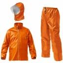 Makku(マック) マック ワークス レイン スーツ 全2色 6サイズ レインスーツ 上下 オレンジ LL 防水 2レイヤー 止水テープ DD-08444