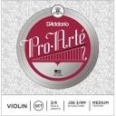 DADDARIO D'Addario ダダリオ バイオリン弦 J56 3/4M ProArte Violin Strings / SET aluminum D 0019954164096