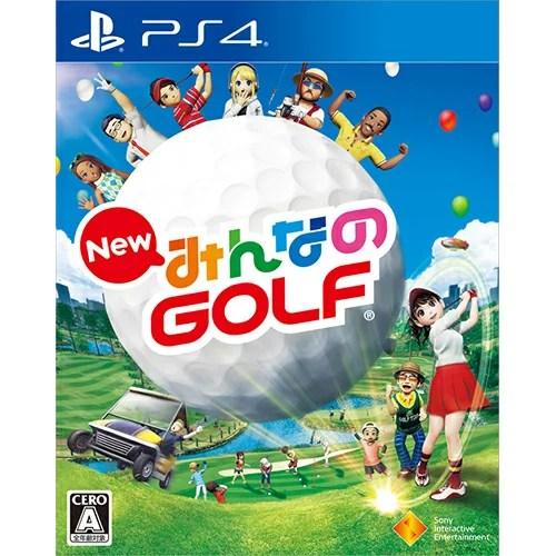 【中古】New みんなのGOLF PS4 PCJS-50022/ 中古 ゲーム
