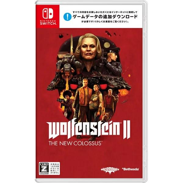 【中古】Wolfenstein II: The New Colossus Nintendo Switch ニンテンドースイッチ 【CERO区分_Z】 HAC-P-AMKMB/ 中古 ゲーム