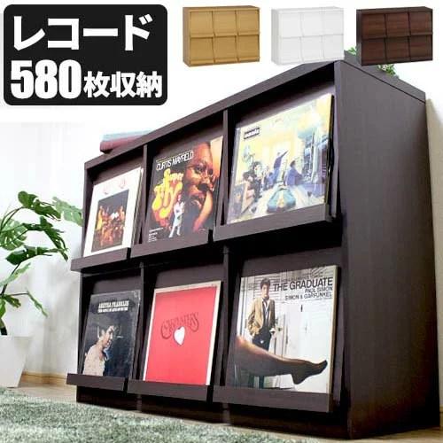 [1月下旬入荷]【代引き可】 レコードラック レコード収納 LP収納 ディスプレーラック 本棚 ディスプレイラック 2段3列 DJブース DJ機器 SL-1200