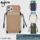 《即納》【11Pro/X/XS対応】エジュー ajew 通販 ajew drawstring case ひも付き ショルダー ip……
