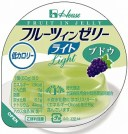 ハウス食品株式会社フルーツインゼリーライトブドウ 60g【RCP】