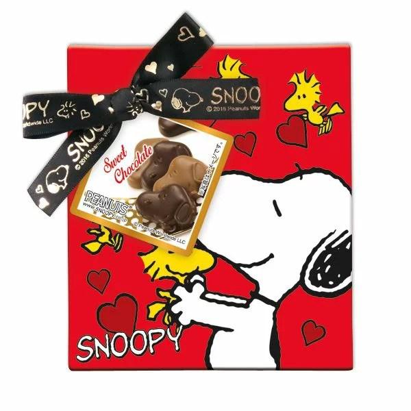 スヌーピースイートショコラS チョコレート バレンタイン valentine プレゼント 本命チョコ 友チョコ 義理チョコ 義務チョコ 家族チョコ 自分チョコ まとめ買い 【2017年1月13日以降発送】