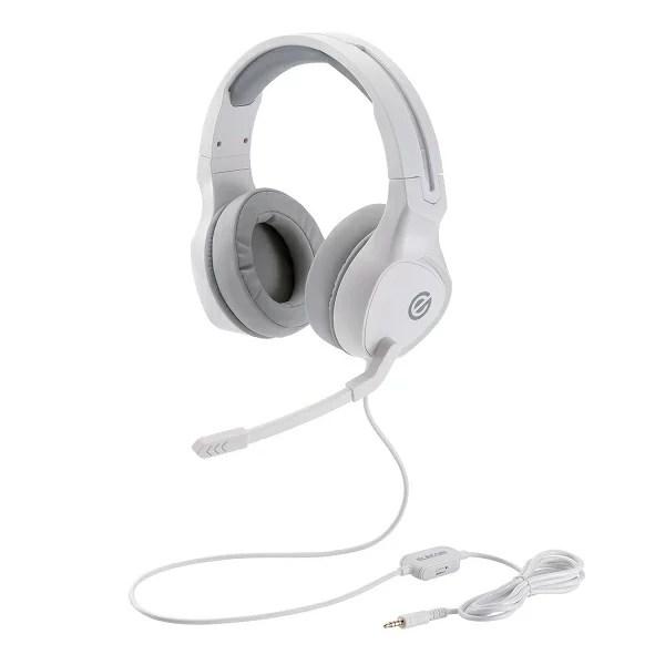 ゲーミングヘッドセット ELECOM HS-G01 WH ホワイト 高音質 ヘッドホン ヘッドフォン 【6ヶ月保証】 【送料無料】