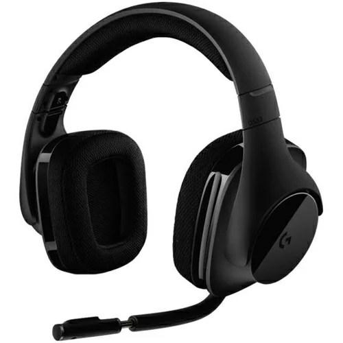 ロジクール Logicool G533 Wireless DTS 7.1 サラウンド ゲーミング ヘッドセット G533 e-sports(eスポーツ) ゲーミング(gaming)