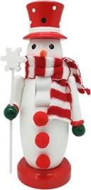 丸和貿易 クリスマス 飾り ナッツクラッカーオブジェ スノーマン 400826100【smtb-s】