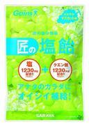 東京サラヤ Gains 匠の塩飴 マスカット 100g