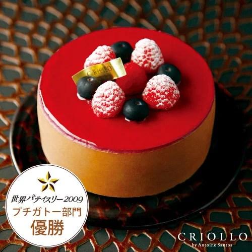 【チョコレートケーキ】ニルヴァナ4号(直径12cm)ブラック
