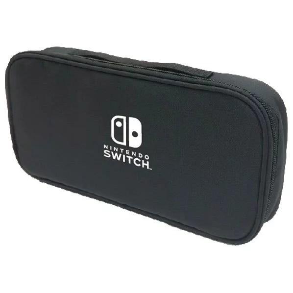 マックスゲームズ Nintendo Switch専用スマートポーチ ブラック HACP01BK [HACP01BK]