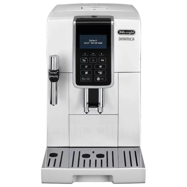デロンギ コンパクト全自動コーヒーマシン ディナミカ ホワイト ECAM35035W [ECAM35035W]【RNH】【SSPT】