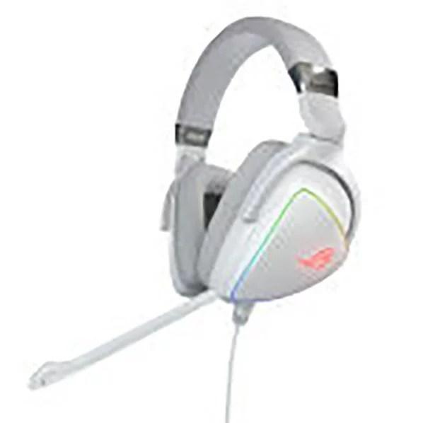 ASUS ゲーミングヘッドセット ROGシリーズ ホワイト ROG DELTA WHITE [ROGDELTAWHITE]