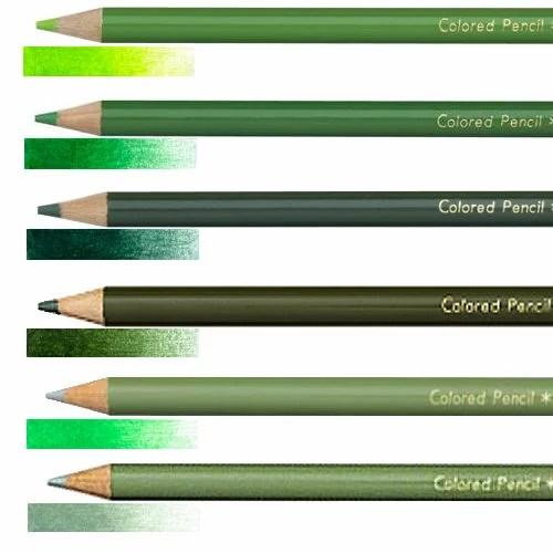 三菱 色鉛筆 880 単色 緑系きみどり みどり ふかみどり はいみどりえめらるどいろ せいじいろ