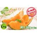 【ふるさと納税】JAふらの厳選!約1.3kg×6玉【上富良野
