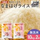 【ふるさと納税】【あきたこまち】なまはげライス無洗米10kg