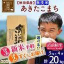 【ふるさと納税】 【無洗米】 秋田県産 合川地区限定 あきた
