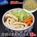 【ふるさと納税】 手もみ 麺 吉田のうどん 12食 セット