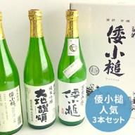 【ふるさと納税】倭小槌 人気3本セット 【お酒・日本酒・大吟