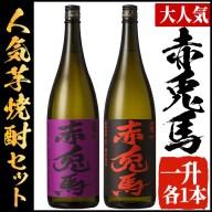 【ふるさと納税】鹿児島本格芋焼酎!赤兎馬 「季節限定」紫赤兎