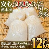 【ふるさと納税】吉松物産館で人気のお米 12kg【吉松物産館