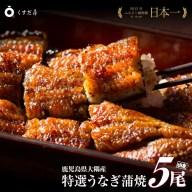 【ふるさと納税】「特選」くすだ屋の鰻(鹿児島大崎産)大サイズ