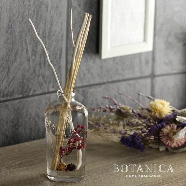BOTANICA ボタニカ ホームフレグランス フルール リードディフューザー OND-036(スティック ガラスボトル ...