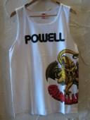 (DEAD STOCK)POWELL/TANK TOP CABALLERO WHITE
