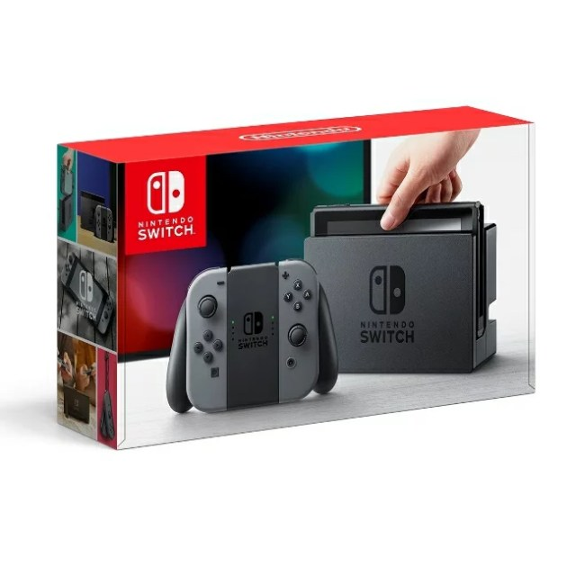 3/3発売★Nintendo Switch Joy-Con(L)/(R) グレー 任天堂 4902370535709