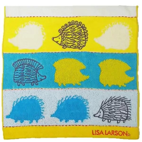 リサ・ラーソン LISA LARSON ハリネズミシルエット ミニタオル 25×25cm 北欧【メール便配送対応】