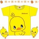 チキンラーメン ひよこちゃん シャツ Tシャツ レディース ジュニア 子供用 イエロー 半袖 綿100% 半そで ティーシャツ