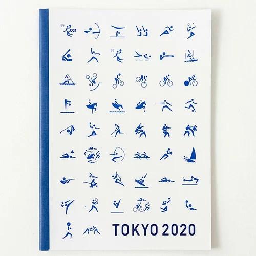 【東京2020公式ライセンス商品】【メール便対応】 B5ノート (東京2020オ