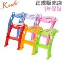 カリブ 補助便座 トイレトレーナー クッション付き 赤ちゃん 練習 PM2697 Karibu Frog Shape Cushion Potty Seat with Ladder 5%還元 あす楽