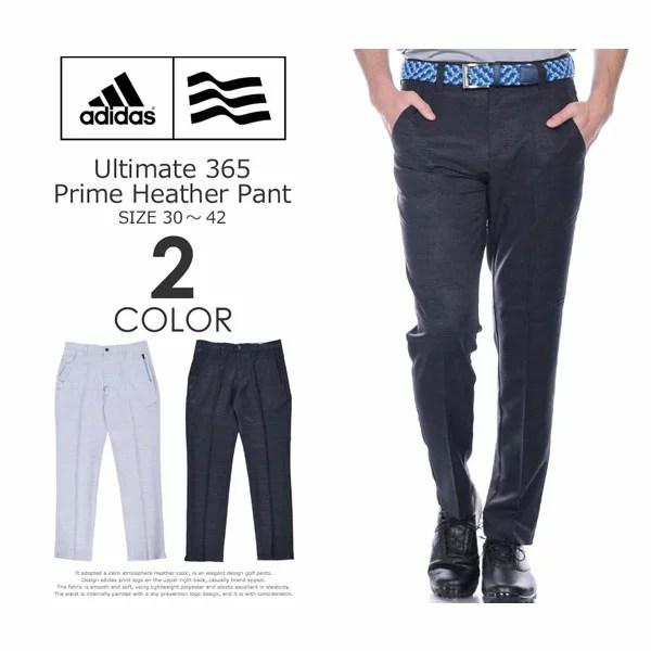 (福袋対象商品)(感謝価格)アディダス adidas ゴルフウェア メンズ ゴルフパンツ ロングパンツ メンズウェア アルティメット 365 プライム ヘザー パンツ 大きいサイズ USA直輸入 あす楽対応
