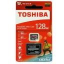 東芝 EXCERIA THN-M303R1280A2 [128GB] microSDXCカード UHS-I A1 V30 U3対応 海外パッケージ