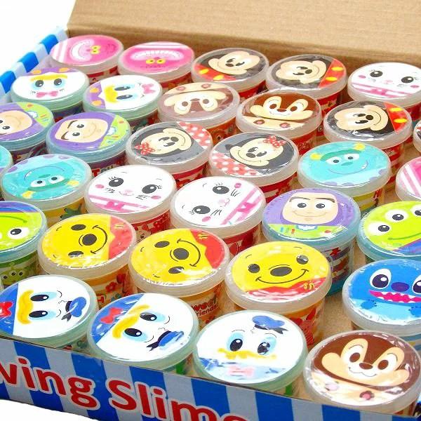ディズニーミニネオンスライム【ご注文単位は必ず36個単位でお願いします】景品 子供 子ども会 子供会 幼稚園 時計