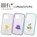 【ポイント10倍】ポケットモンスター IIIIfit Clear iPhone12/12 Pro対応ケース