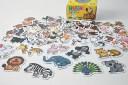 動物合わせのパズル遊びNH6011 どうぶつあわせパズルどうぶつ編