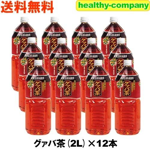 グァバ茶(2Lペット× 6本入)×2箱 送料無料