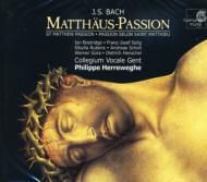 【送料無料】 Bach, Johann Sebastian バッハ / マタイ受難曲 ヘレヴェッヘ&