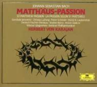 【送料無料】 Bach, Johann Sebastian バッハ / マタイ受難曲 カラヤン&ベル