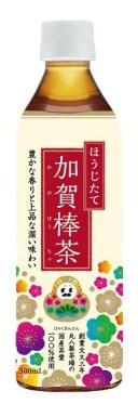 ひゃくまんさんラベル 加賀棒茶 500mlPET 24本入 1ケース 【送料無料対象外】